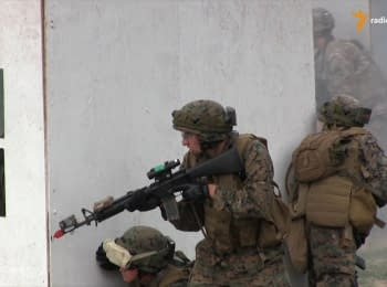 International trainings at Yavoriv military range in full swing