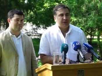 Саакашвілі проти контрабанди на Одеській митниці