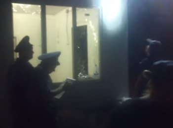 """Explosion in the office of """"Samooborona"""" in Odesa, 03.08.2015"""