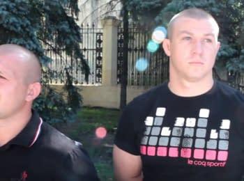 """Прихильники """"Опозиційного блоку"""" в Харкові: """"Дороги, клумби - нам це подобається!"""""""