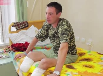 "German doctors prepare ""second legs"" for ukrainian soldier"