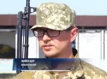Soldier Shchur passes the basic course