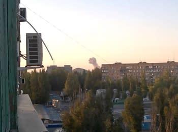 Взрыв на Донецком заводе химических изделий, 05.08.2015