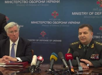 Defense ministers of Ukraine and the UK held a meeting in Kyiv