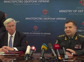 Министры обороны Украины и Великобритании провели встречу в Киеве