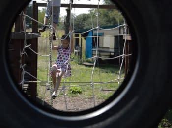 Для детей бойцов АТО иностранцы организовали отдых в лагере