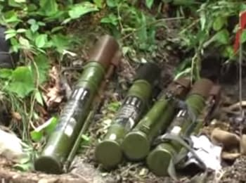 In Transcarpathia the SBU detained a cache of ammunition
