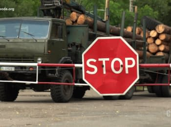 """""""The Schemes"""": Week in Chernobyl. Export of forest from the infected area"""