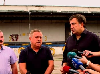 Saakashvili: Little has changed for the better at customs