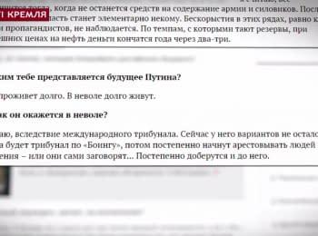 """""""Вести Кремля"""": Путин пошел на дно, танцы имени Кадырова и прогнозы Коха"""