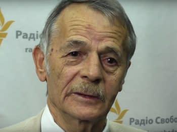 Джемілєв привітав кримчан з Днем Незалежності України