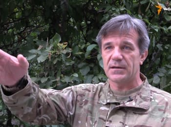 """People leaving at the east are deceived by the authorities"" - commander of military operations of ""Donbas"" battalion"