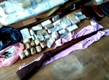 In Dnipropetrovsk region SBU unmasked a network of illegal arms