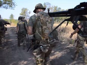 """Лагерь """"Азова"""": тренировки артиллерии. День третий"""