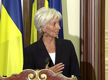 (English) IMF Director Christine Lagarde about the recent economic achievements of Ukraine