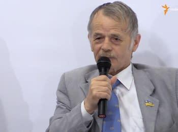 Чубаров і Джемілєв анонсували блокаду адмінкордону з Кримом