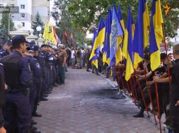 """Одеських лідерів """"Правого сектору"""" і Автомайдану взяли під варту"""