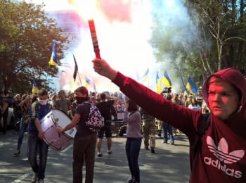"Marsh ""Freedom to political prisoners"" in Odessa"