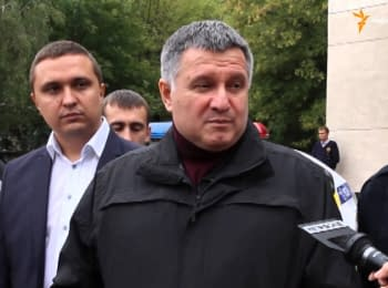Avakov said that he knew who prepared the assassination attempt on him in person