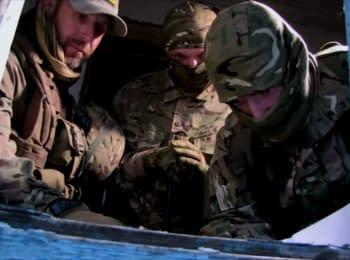 """Снайперы """"Азова"""" отрабатывают ночные боевые выходы"""