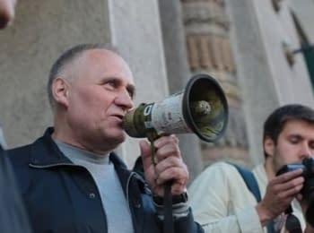Пікет Статкевича на пл. Свободи в Мінську