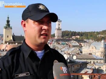Антон Цюцюра о первом месяце работы в Новой полиции