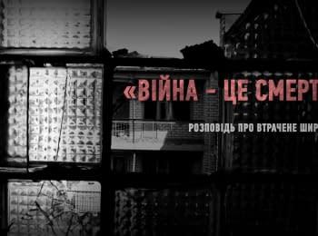"""War is death."" Story of the lost Shyrokyne"