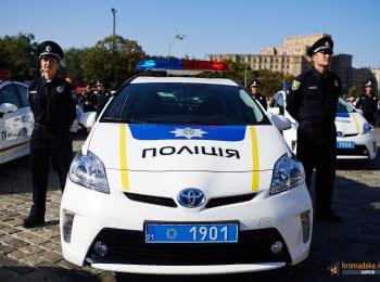 Патрульная полиция Харькова приняла торжественную присягу