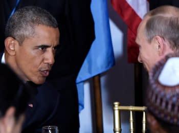 Путин и Обама представили свои версии событий в Сирии и Украины