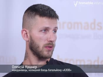 "Straight talk with Maidan activist, doctor and ""Azov"" soldier"