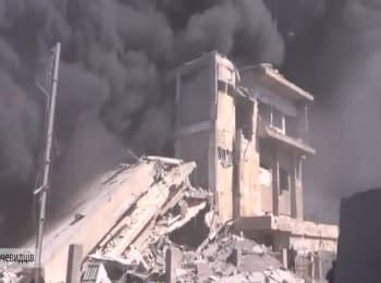 Россия нанесла авиаудары в Сирии