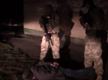 СБУ затримала бойовика, який планував підірвати блокпост у Дзержинську