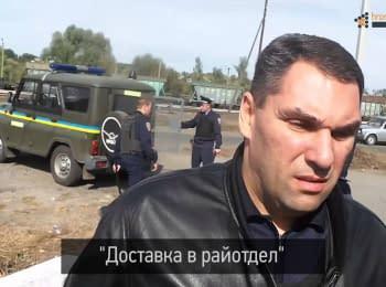 Противоречия между комментарием начальника Богодуховского РО и видеосъемкой Громадського Харків