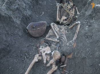 Remains of 14 Second World War soldiers were found near Slovyansk