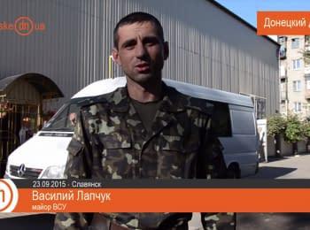 Автомобіль для бійців АТО від слов'янських волонтерів