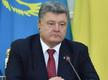 Statement by President of Ukraine after talks with President of Kazakhstan