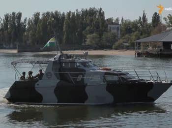 Mariupol' border guards got a new boat