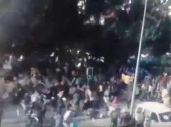 В мережі з'явилось нове відео вибуху в Анкарі (18+)