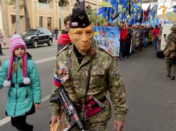"""March of heroes"" was held in Kyiv"