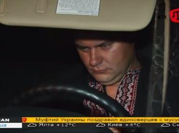 """Arrest of a drunken Head of """"Kakhovka"""" customs post"""