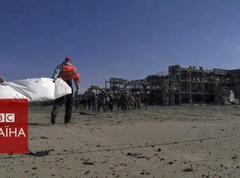 Донецький аеропорт: пошук тіл загиблих триває
