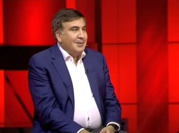 """Mikheil Saakashvili's interview for the """"5th channel"""", 15.10.2015"""
