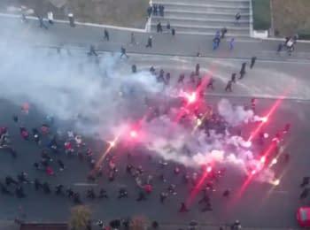 """Фанати перед матчем Динамо - Шахтар: """"Донецьк - це Україна"""""""