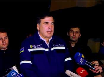 Saakashvili on the scene in Zatoka