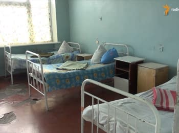 Stanytsya Luhanska district hospital works without windows for more than a year
