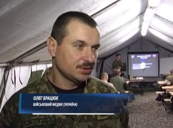 Common training of Ukrainian and Canadian militaries