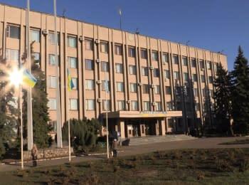 Славянск после голосования
