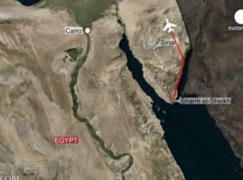 У Єгипті розбився російський літак