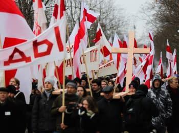Хода опозиції в Мінську