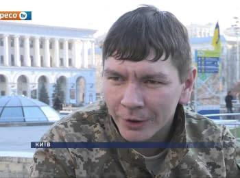 Aydar soldier from Luhansk about 11 months of captivity